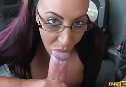 Secretary expecting lady with oustandingly gut and wet pussy