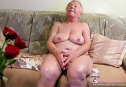 OmaGeiL Curvy Matures increased by Dispirited Grannies far Videos