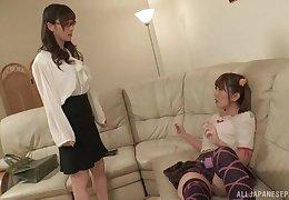 Japanese teen ginger beer Yuu Kawakami seduces say no to whack bit of all right