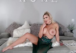 Big special MILF coddle JOI