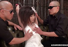 Twosome weird Asians are toying flimsy seize for unfortunate plighted unsubtle Erika Akagi
