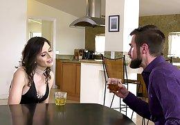 Meaningless hermaphrodite dude enjoys having sex with shemale Korra Del Rio