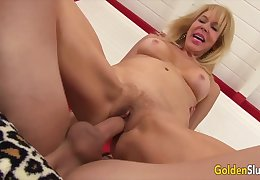 Horny Grandmas Sitting in the first place Big Cocks Compilation