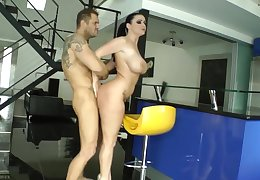 sophie dee in gym smashed off out of one's mind nacho vidal